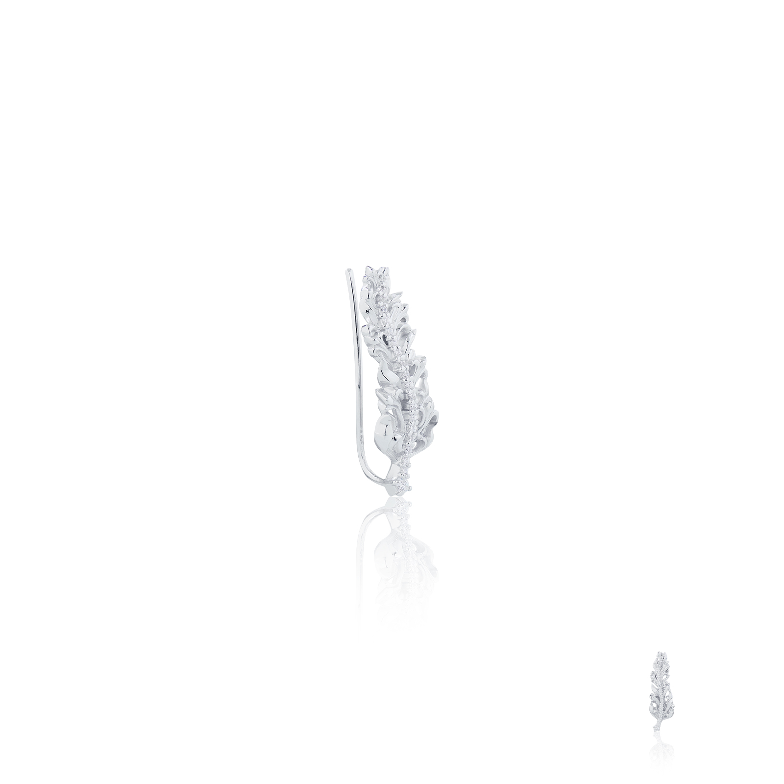 Raven Earring Xtreme - White
