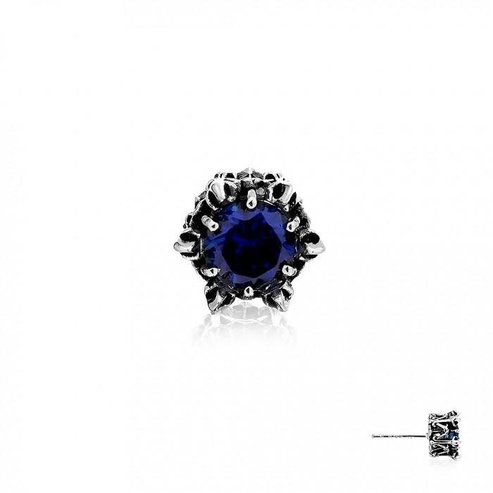 Crown Of Aphrodite Earring Stud - Royal Blue
