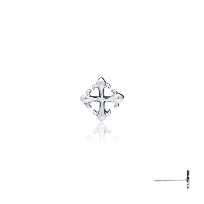 Rituals Cross Stud Earring